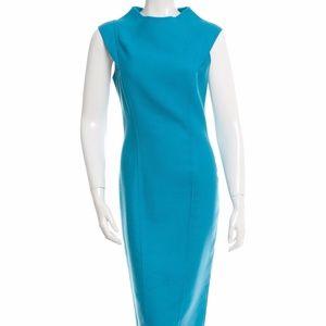 Carolina Herrera Sleeveless Midi Dress